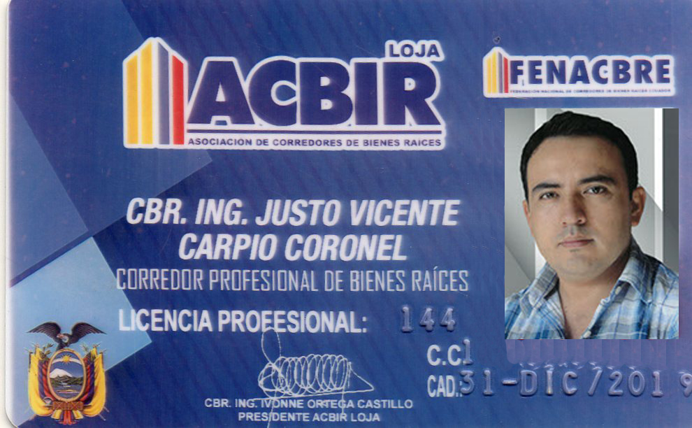 professional license of real estate agent